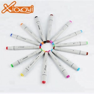 Custom Size Colorful Quick Dry Art Twin Markers Pen Set