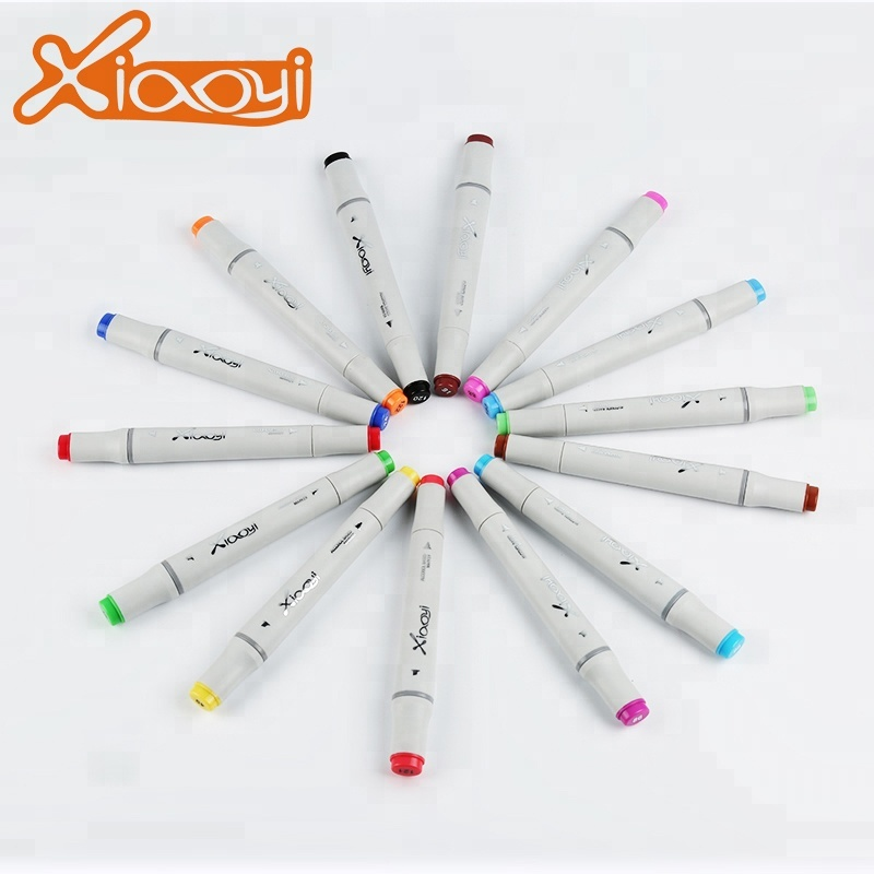 Custom Size Colorful Quick Dry Art Twin Markers Pen Set Featured Image