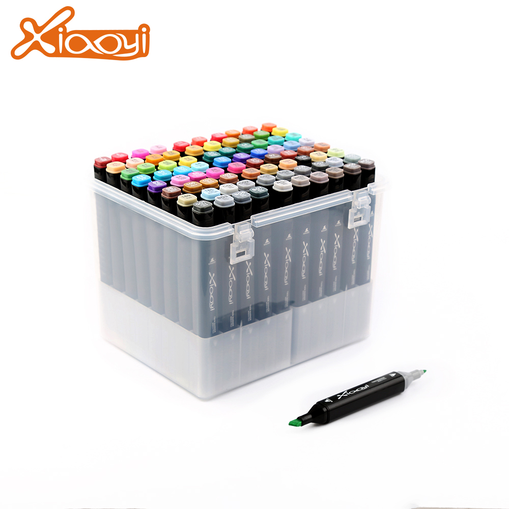 Logo Printed DIY Multicolor Art Marker Pen for Professional Interior Design Featured Image
