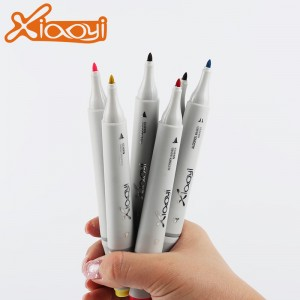 2018 New Custom logo Marker Pen 168 Colors Marker Pen For Paper