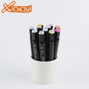Twin marker colored marker art drawing pen set
