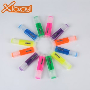 6 Pack Multi-Color Highlighter Pen Marker Coloring Pens Highlighters Gifts
