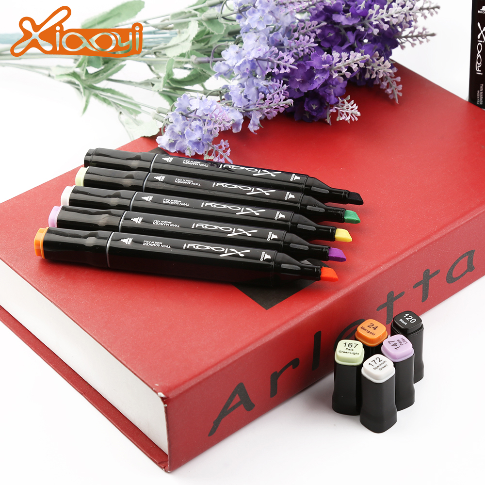 Wholesale Non-Toxic Ink Marker Pen With Double Ended Featured Image