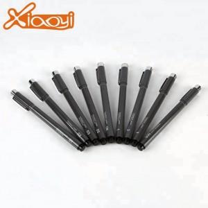 Micron black ink fine line pen set brush for school or office