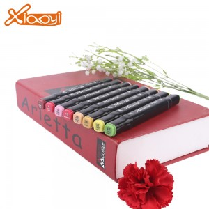 High quality colorful 40 colors marker pen for interior design