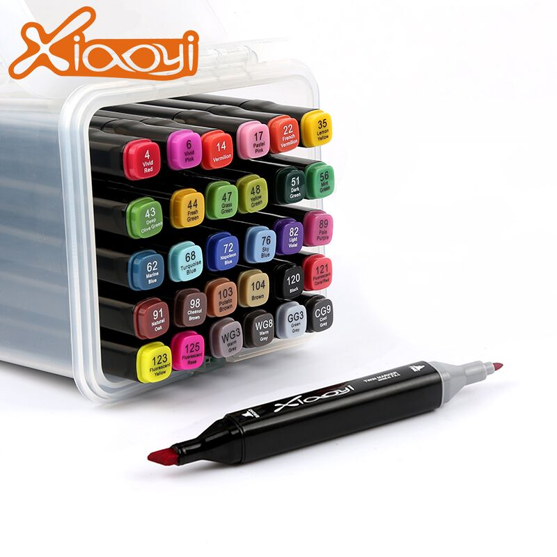Custom Logo Students 30 Colors Paint Marker Pen Drawing Pen For Students Featured Image