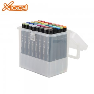 Fiber Tip Art Marker Pen 40 Colors Marker Pen For School Students