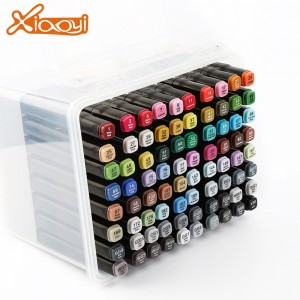 Architecture design drawing 80 colors art marker pen
