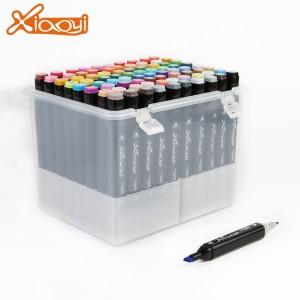80 Colors Marker Pen Double Head Marker Pen for Animation Design