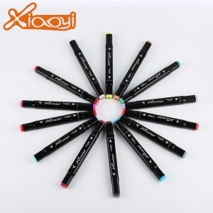 School Office Permanent Marker Pen With Double Ended