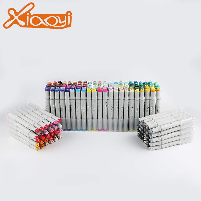 2018 New Custom logo Marker Pen 168 Colors Marker Pen For Whiteboard Or Paper Featured Image