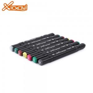 Custom logo permanent 60 colors architecture design marker pen with cheap price