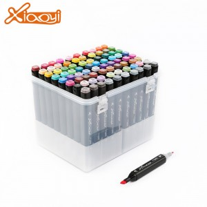 Wholesale Non-Toxic Ink Marker Pen With Double Ended