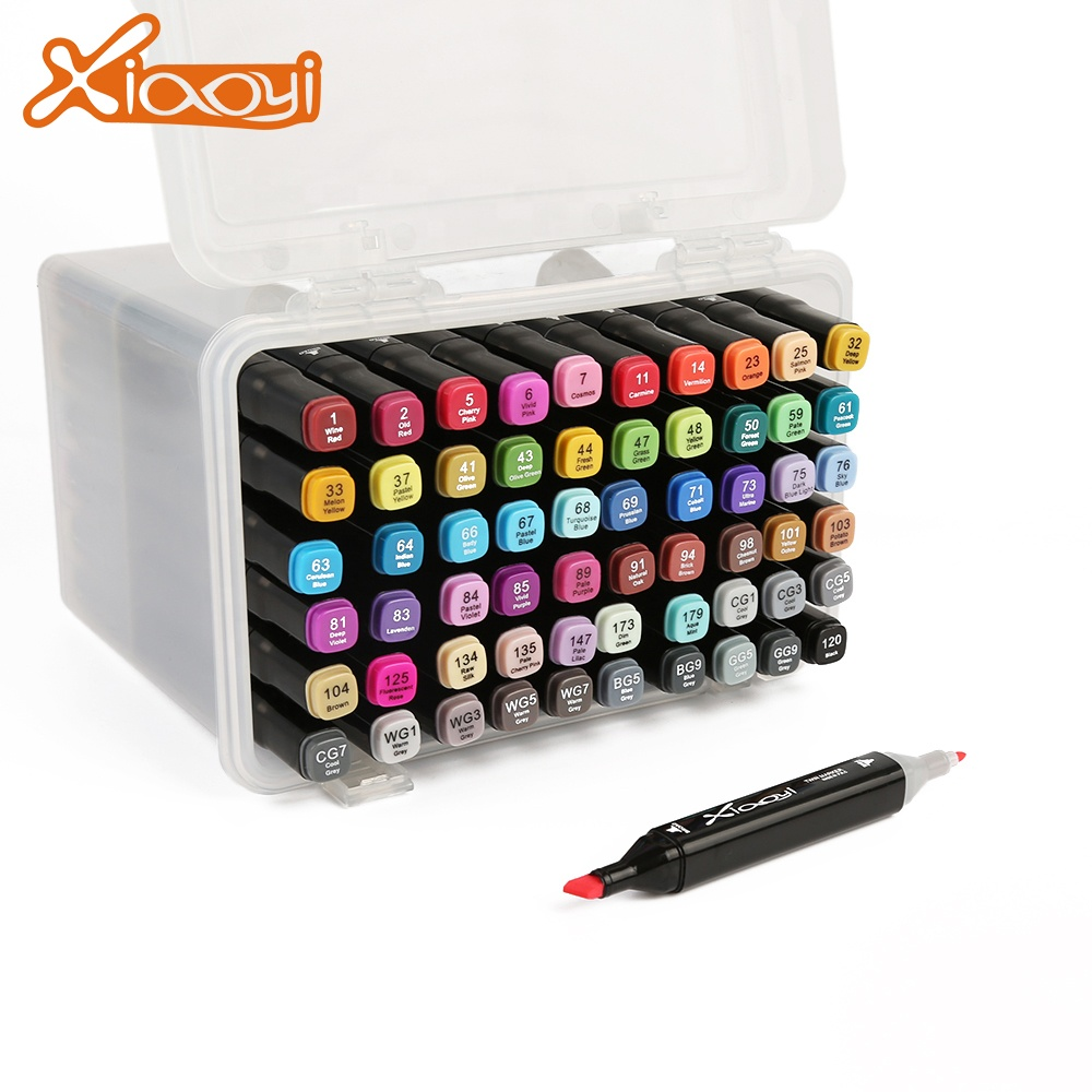 Animation twin alcohol art marker set color 30/40/60/80 painting set Featured Image
