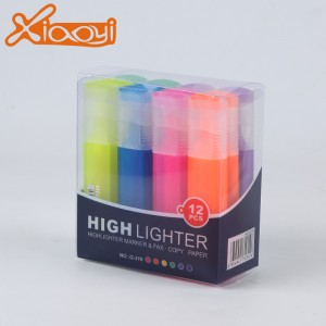 Eco-friendly mini colorful adversting promotional highlighter pen