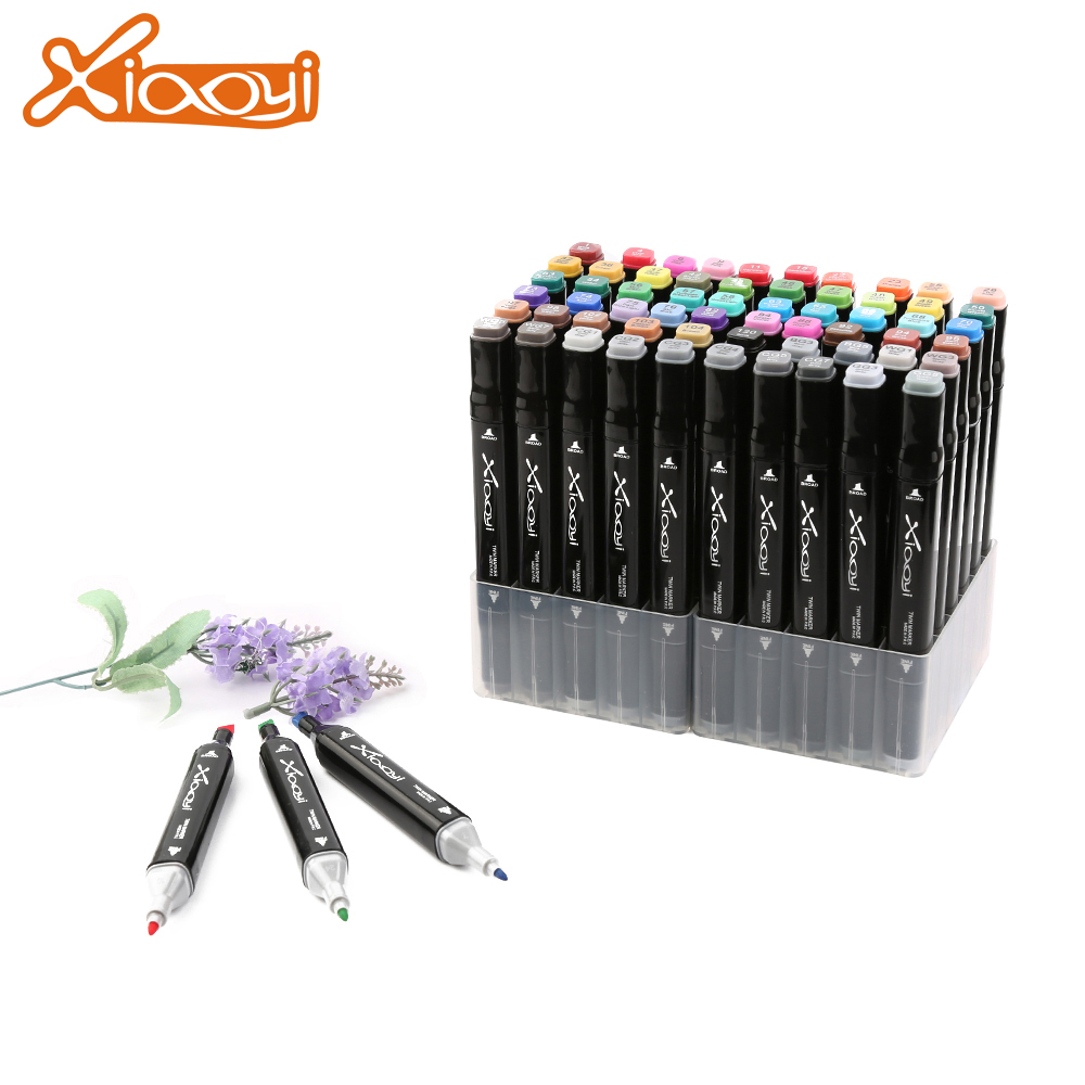 Dual tip alcohol based art drawing marker 60 colors Featured Image