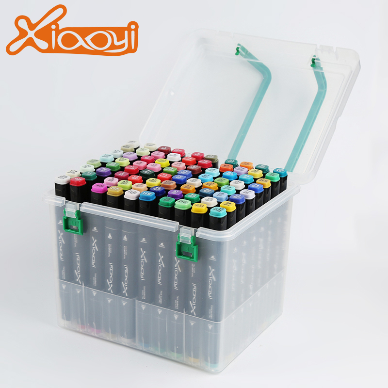 1mm/7mm Colorful School/Office Medium And Art alcoholic Twin Marker Pen Featured Image