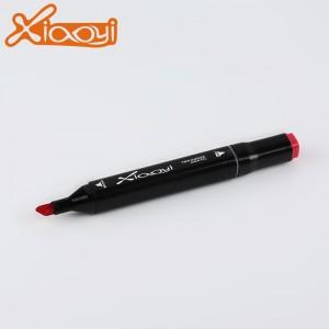 Hand painted design twin  art marker pen set 60 colors