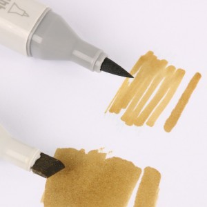 Double-Headed Alcohol Based Ink Twin Brush Tip Art Markers
